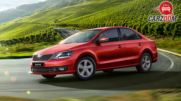 Skoda Rapid facelift View