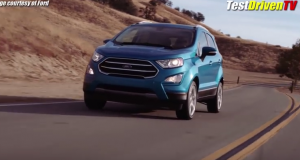 2018 Ford EcoSport First Look