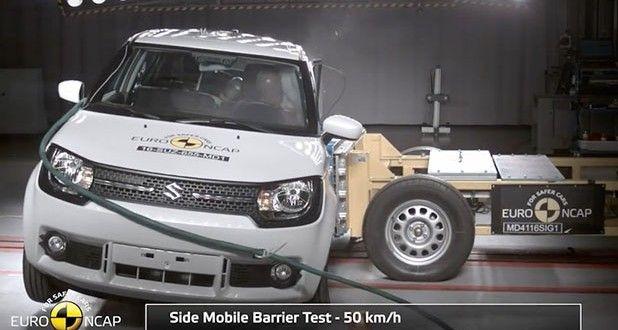 Maruti Suzuki Ignis Crash Test