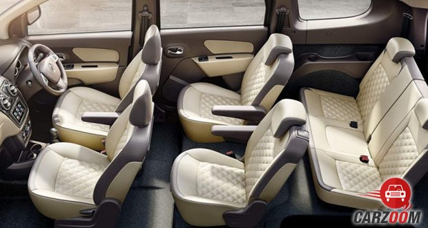 Renault Lodgy Stepway Interior