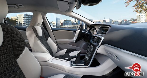 volvo v40 cross country Interiors Seats View