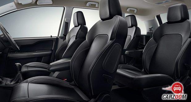 Hexa interior seats