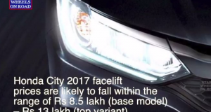 New Honda City Facelift Teased India Launch in January 2017 Specifications