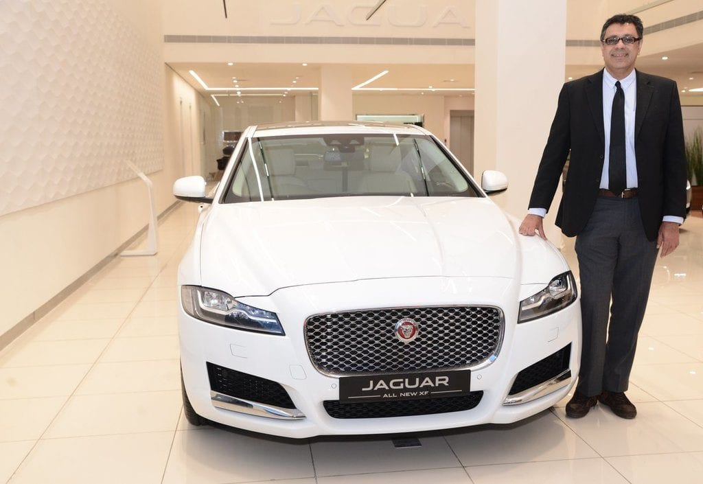 Jaguar launches locally manufactured XF in India at Rs. 47.50 lakh