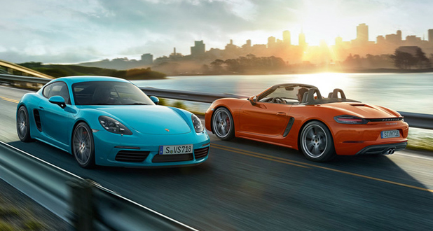 Porsche 718 Boxster and Cayman