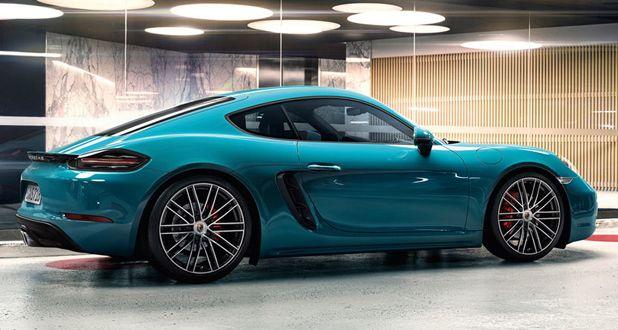 Porsche 718 Boxster side