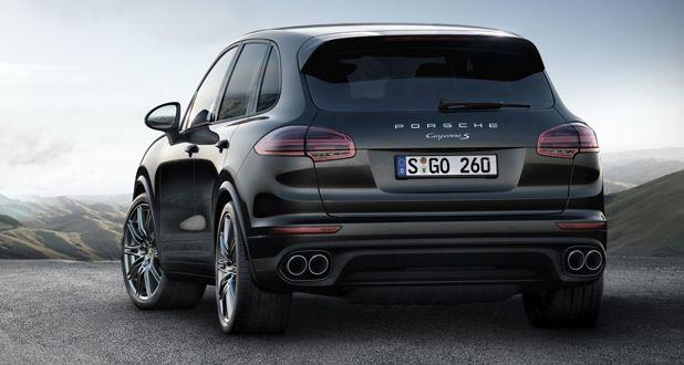 Porsche Cayenne Platinum Edition Back