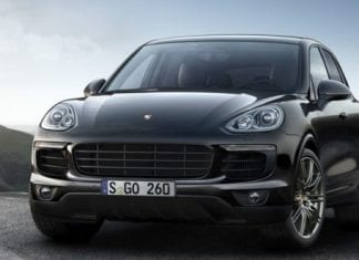 Porsche Cayenne Platinum Edition Front