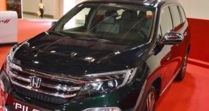 Upcoming Honda Pilot 2017 India Interior Exterior and Price Specifications