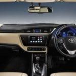Corolla altis 2017 dashboard