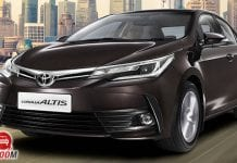 Corolla altis 2017 front
