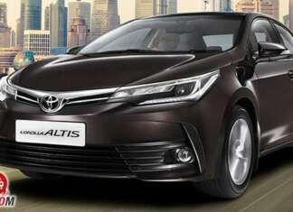 Corolla altis 2017 front