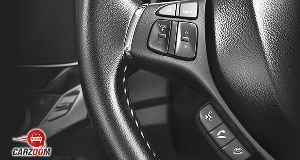 Maruti Suzuki Baleno steering