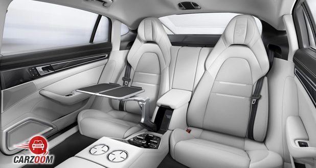 Porsche Panamera Turbo back seats
