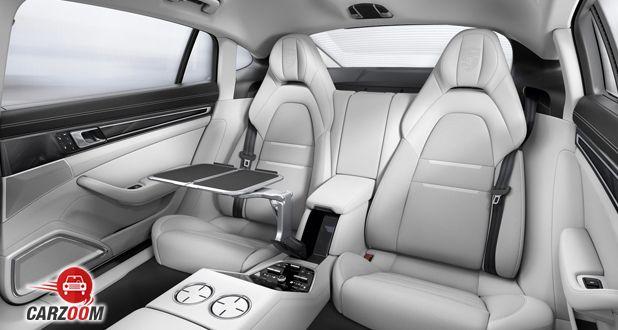 Porsche Panamera Turbo back seats