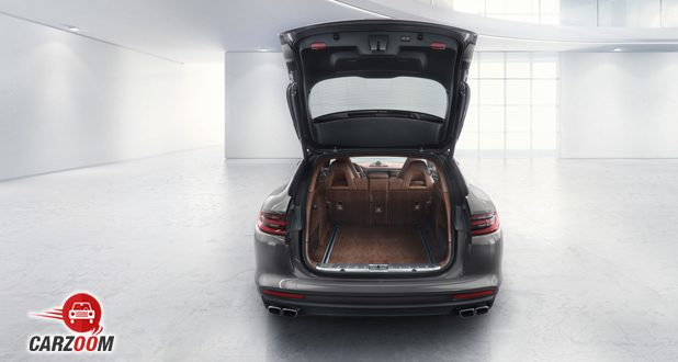 Porsche Panamera Turbo boot space