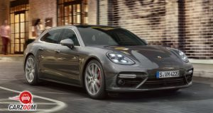 Porsche Panamera Turbo front