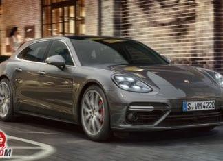 Porsche Panamera Turbo front