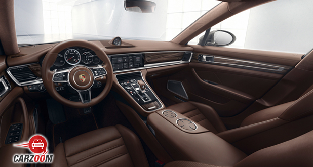 Porsche Panamera Turbo interior
