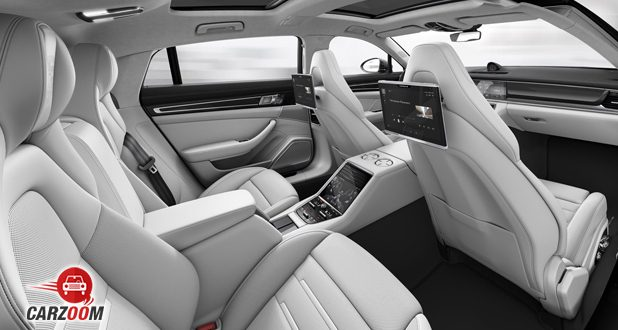 Porsche Panamera Turbo seats