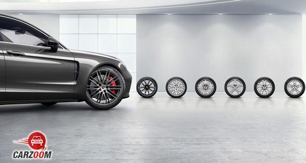 Porsche Panamera Turbo side view