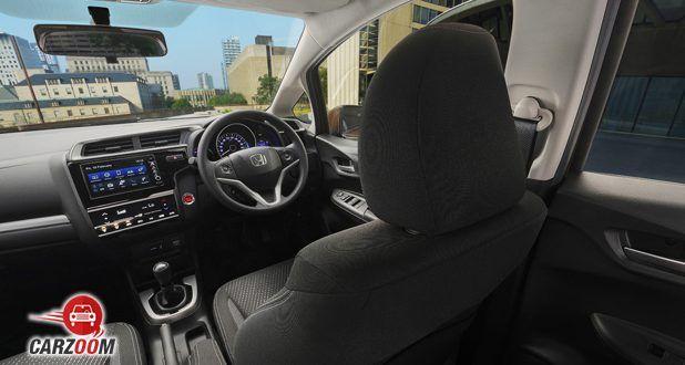 Honda WR-V Dashboard