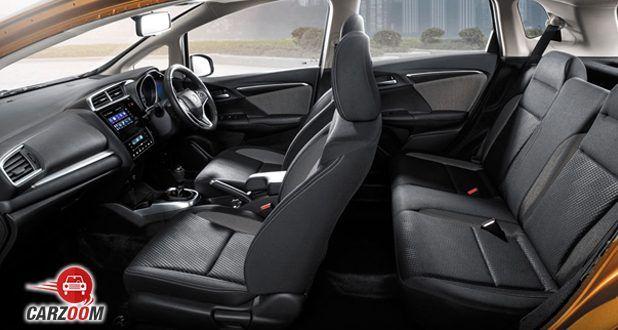 Honda WR-V Interior