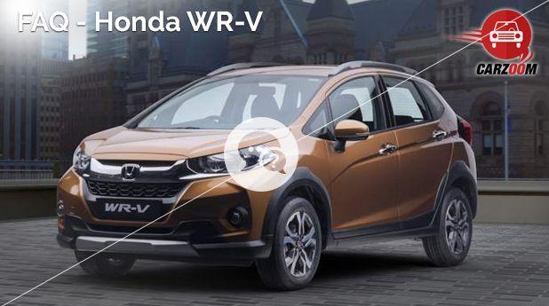 Honda WR-V FAQ