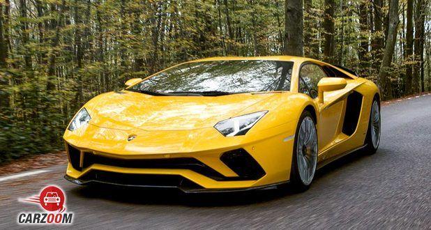 Lamborghini Aventador S front (Yellow)