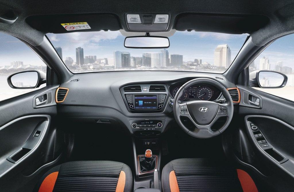 2017 Hyundai Elite i20 interior