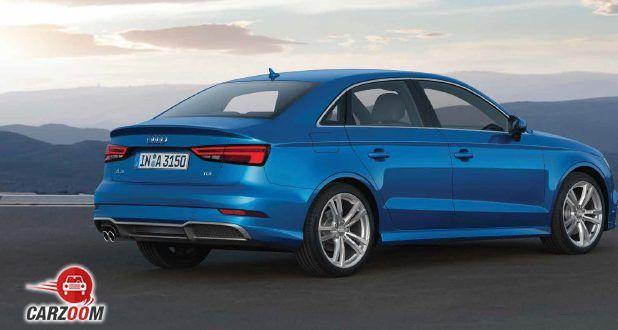 Audi A3 Sedan back