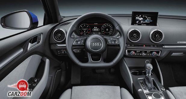 Audi A3 Sedan dashboard