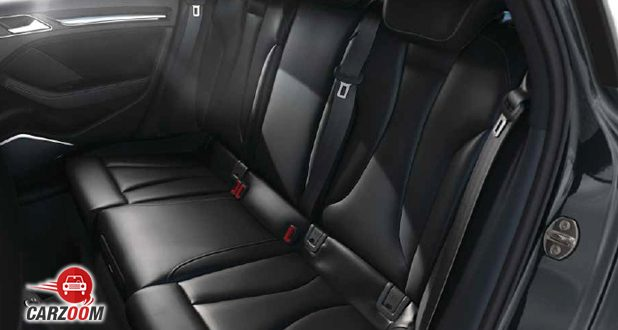 Audi A3 Sedan seats