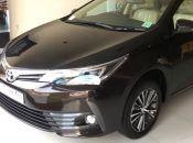 2017 Toyota Corolla Altis Facelift India
