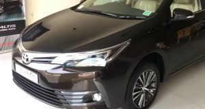 2017 Toyota Corolla Altis Facelift India