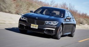 BMW M760Li V12 front