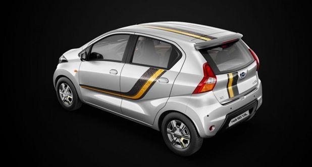 Datsun redi-GO Gold Special Edition rear
