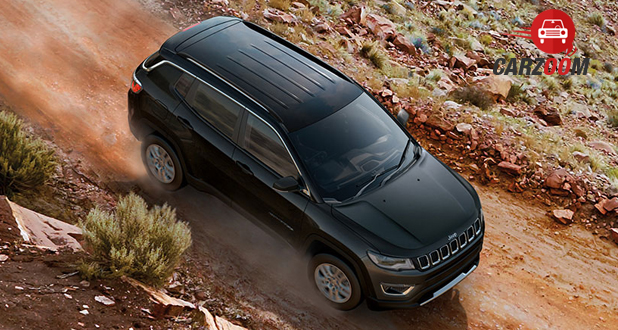 Jeep Compass Top View
