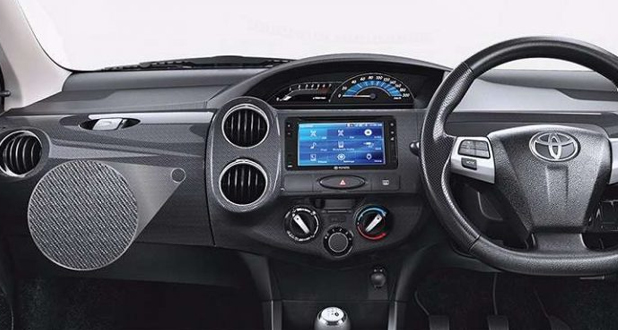 Toyota Etios Cross X-Edition interior
