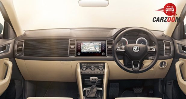 Launch of skoda kodiaq price specifications and features for Interior skoda kodiaq