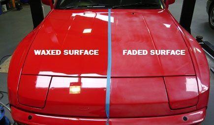 Faded-Vs-waxed-car-surface