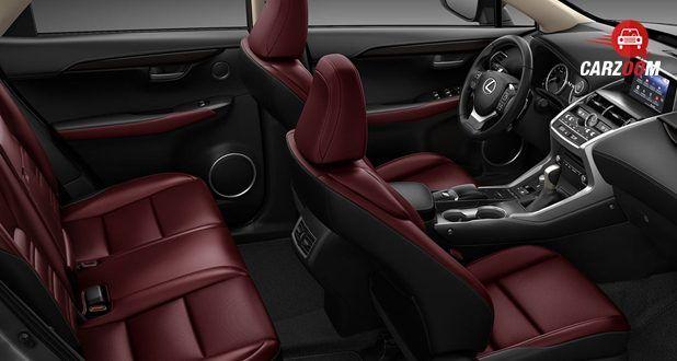 Lexus NX Maroon