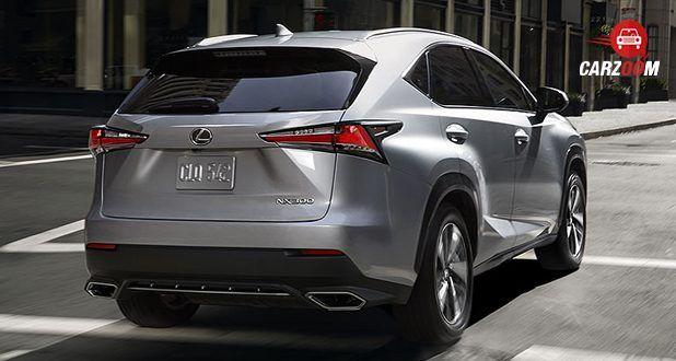 Lexus NX back