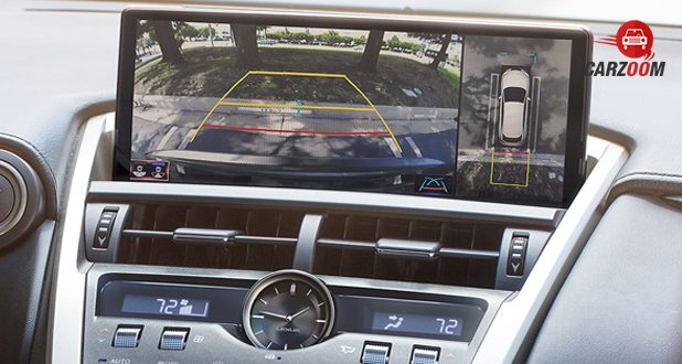 Lexus NX screen