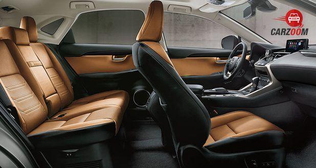 Lexus NX seat