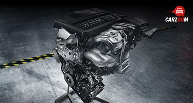 Mercedes-Benz AMG CLA Engine