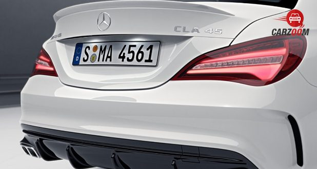 Mercedes-Benz AMG CLA back