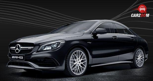 Mercedes-Benz AMG CLA black