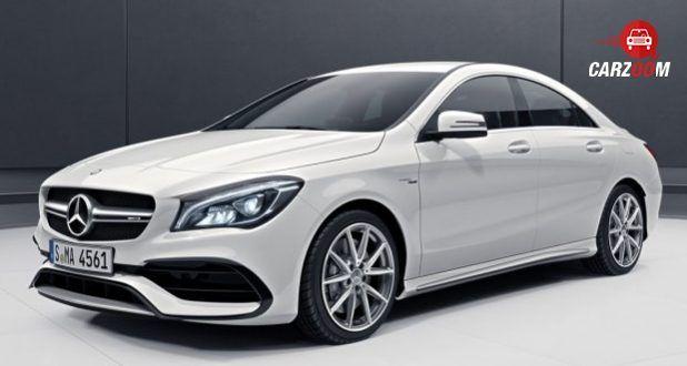 Mercedes-Benz AMG CLA front
