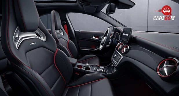 Mercedes-Benz AMG CLA seats